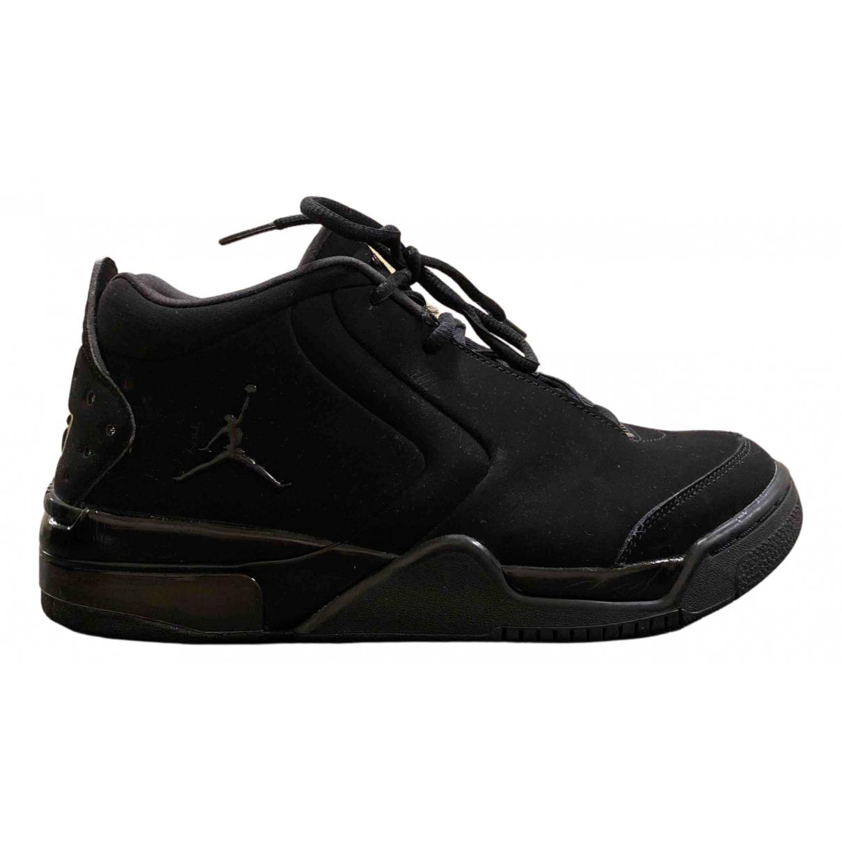 Jordan \N Sneakers in  Schwarz Kunststoff