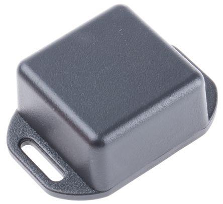Hammond 1551, Black ABS Enclosure, IP54, Flanged, 35 x 35 x 20mm