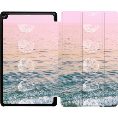 Amazon Fire HD 8 (2017) Tablet Smart Case - Moontime Beach von Emanuela Carratoni