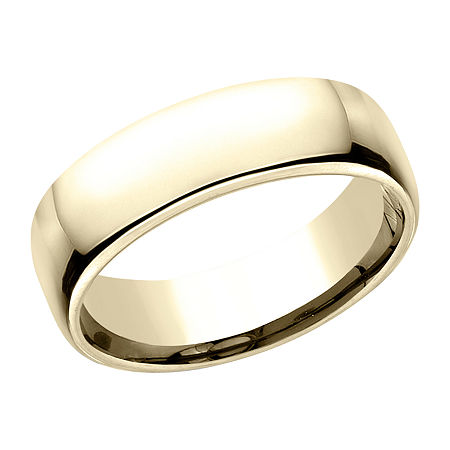 6.5MM 10K Gold Wedding Band, 8 , No Color Family