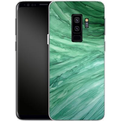 Samsung Galaxy S9 Plus Silikon Handyhuelle - Emerald von Becky Starsmore