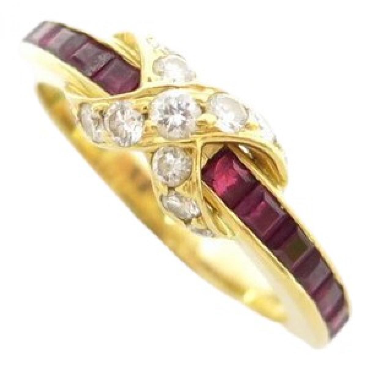 Tiffany & Co - Bague Tiffany Infinity pour femme en or jaune - dore