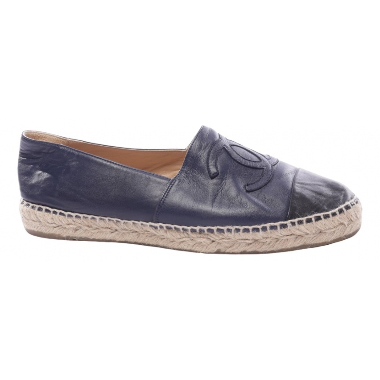 Chanel \N Blue Leather Trainers for Women 41 EU