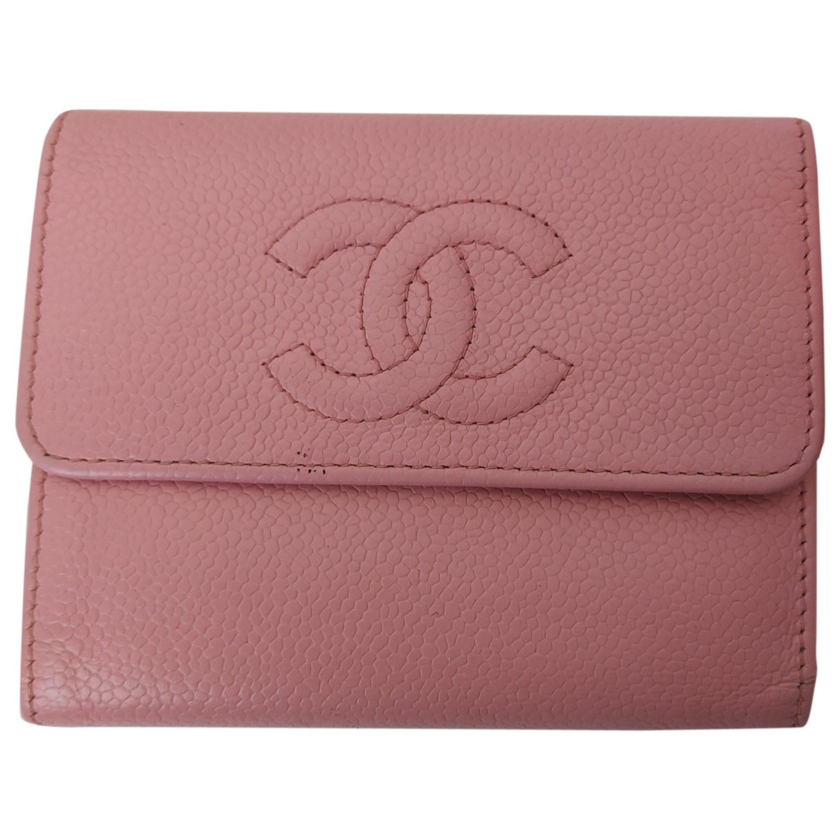 Chanel \N Pink Leather wallet for Women \N