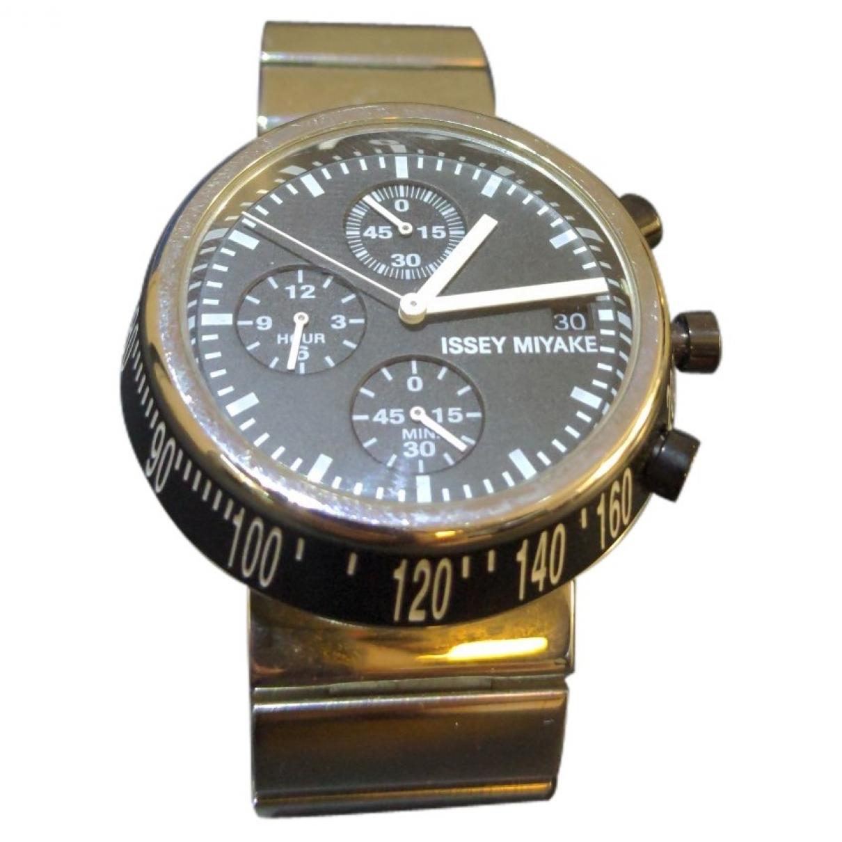 Issey Miyake N Black Steel watch for Men N