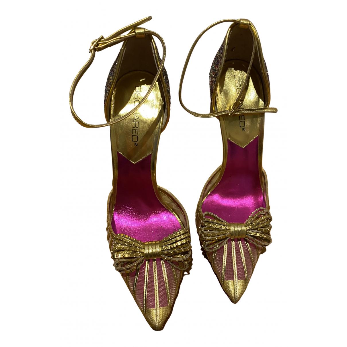 Dsquared2 - Sandales   pour femme en a paillettes - multicolore