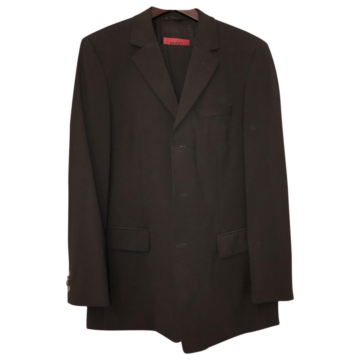 Hugo Boss \N Brown Wool Suits for Men 48 IT