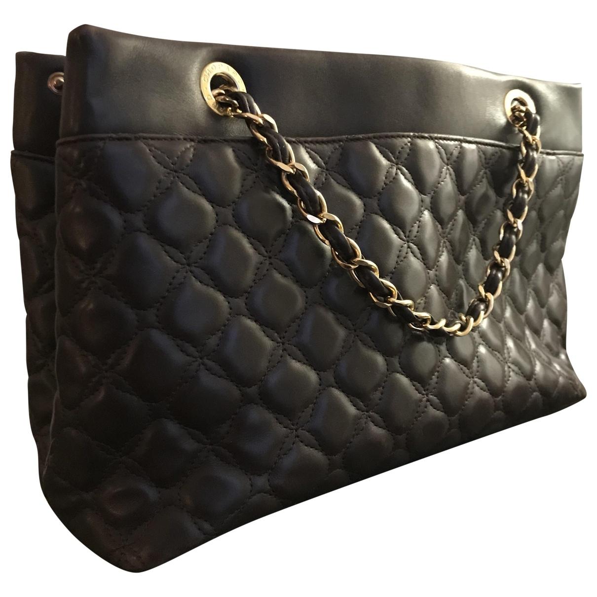 Chopard \N Handtasche in  Braun Leder