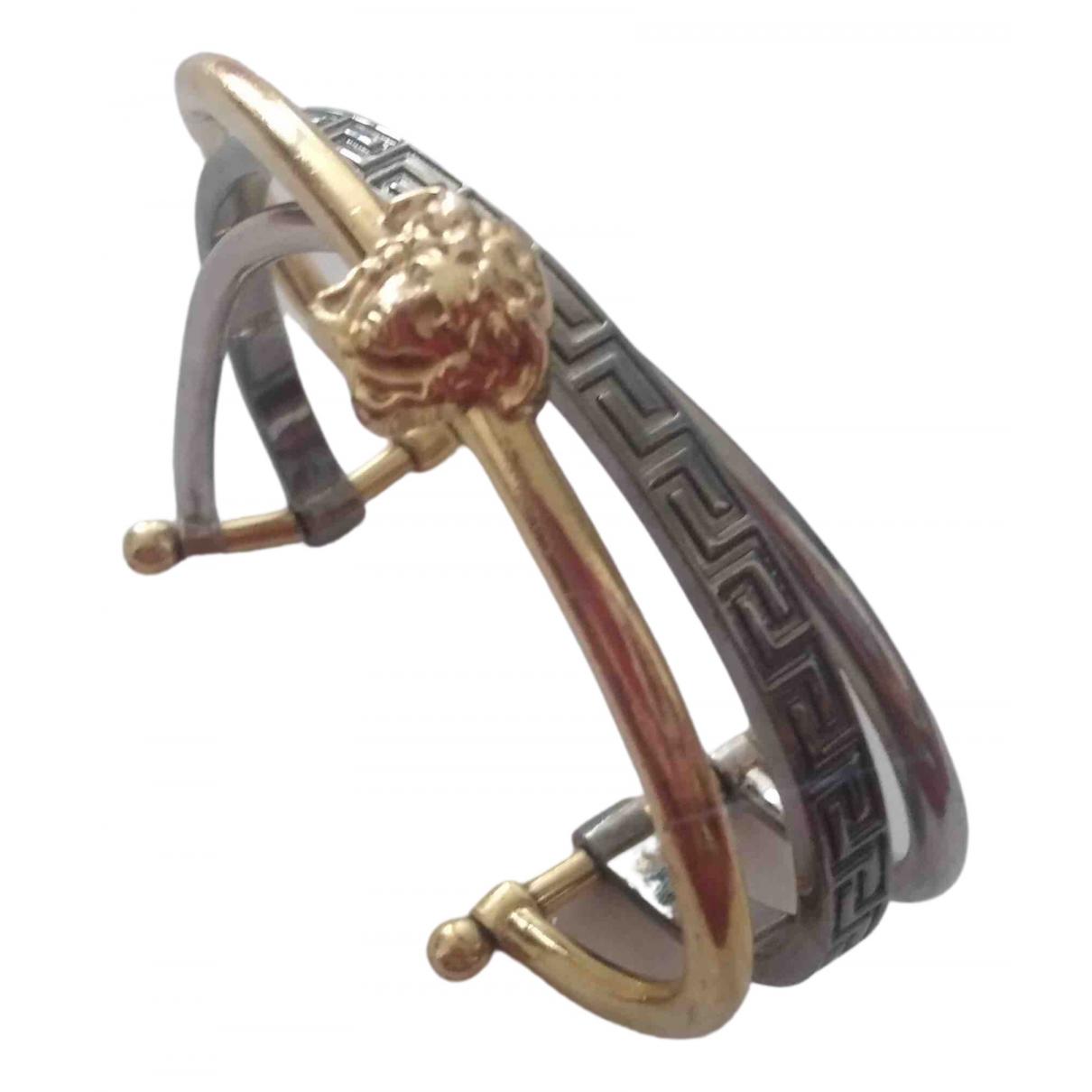 Versace Medusa Armband in Stahl