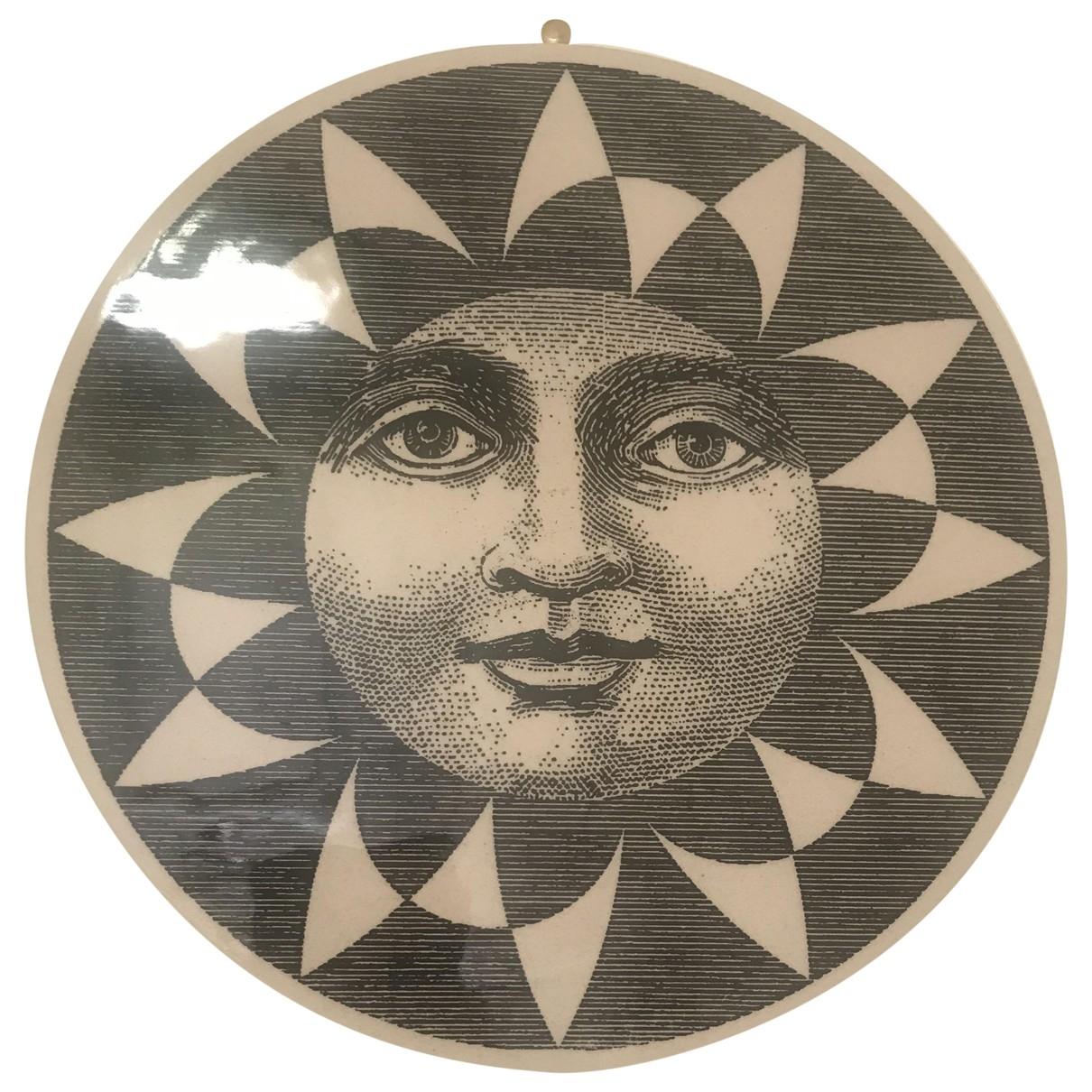Non Signe / Unsigned \N Accessoires und Dekoration in  Schwarz Keramik
