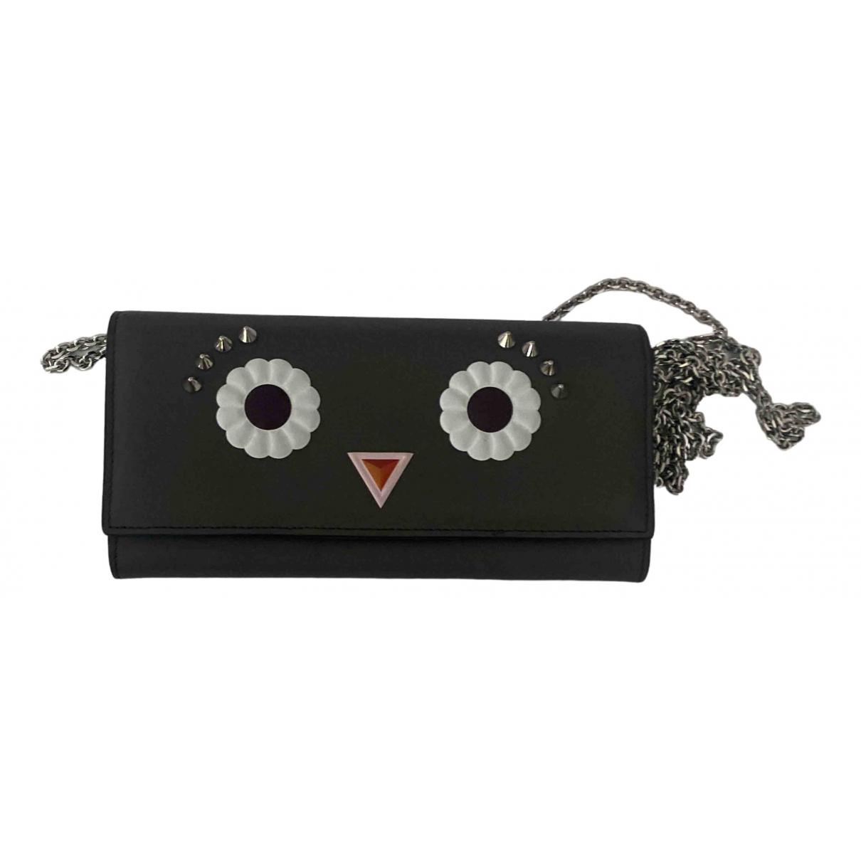 Fendi \N Grey Leather handbag for Women \N
