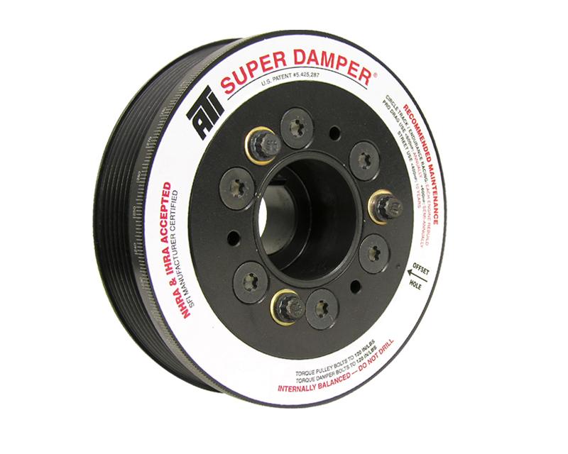 ATI 918564 Racing 5.67 Inch OD Aluminum Super Damper Kit Toyota Corolla XRS 1.8L 2ZZ-GE 05-06