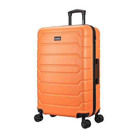 Inusa Trend 28 Inch Hardside Lightweight Luggage, One Size , Orange