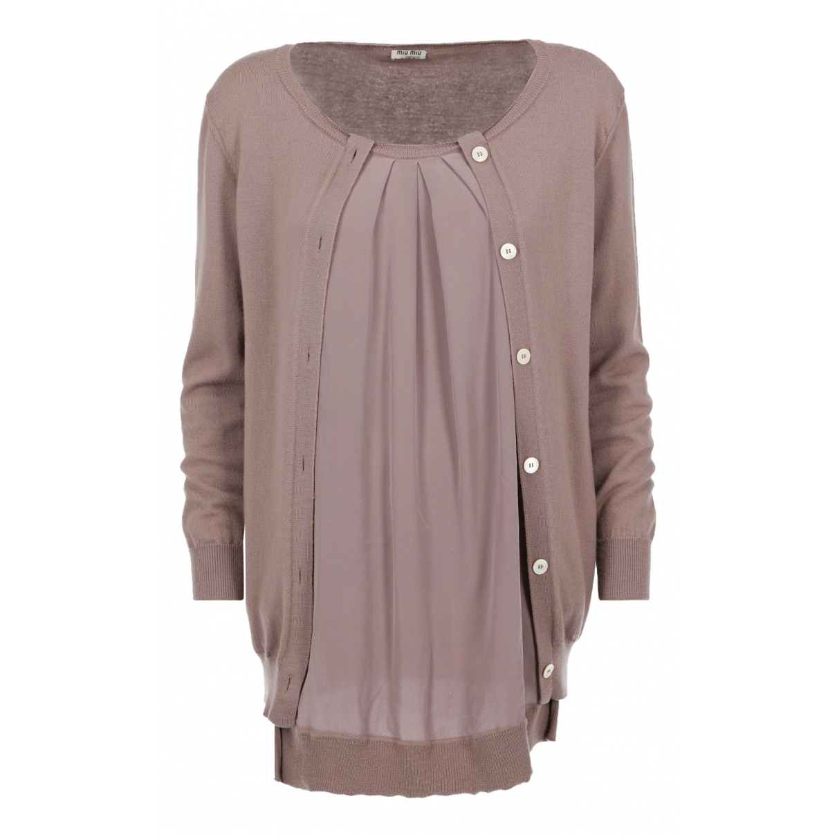 Miu Miu N Purple Cotton  top for Women 40 IT