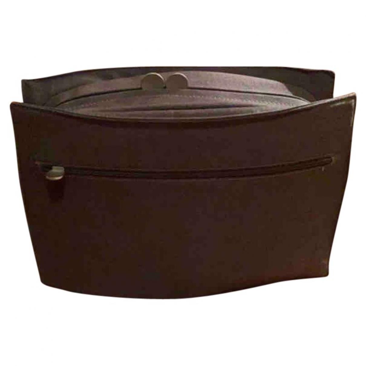 Starck \N Brown Cotton Small bag, wallet & cases for Men \N
