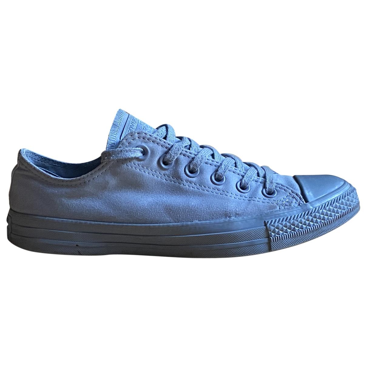 Converse - Baskets   pour homme en toile - bleu