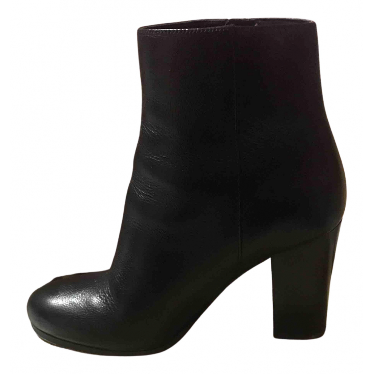 Michael Kors N Black Leather Boots for Women 37 IT