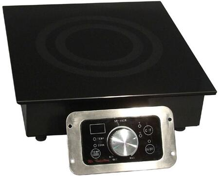 SR-652R 2700W Built-In Commercial Range with 208-240V  SmartScan technology  tempered glass cooktop  Choice of power or temperature mode
