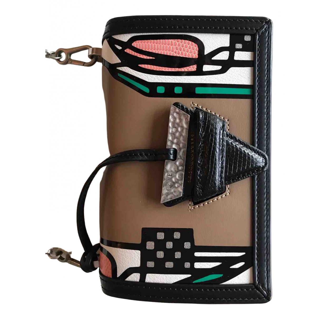 Loewe Barcelona Multicolour Leather handbag for Women \N