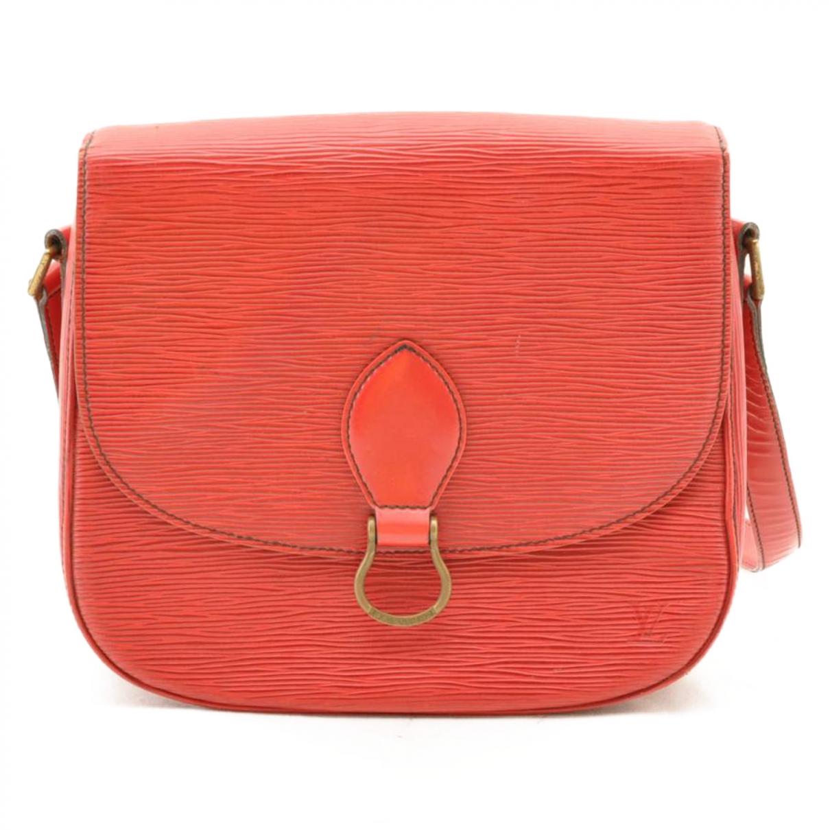Louis Vuitton - Sac a main Saint Cloud pour femme en cuir - rouge