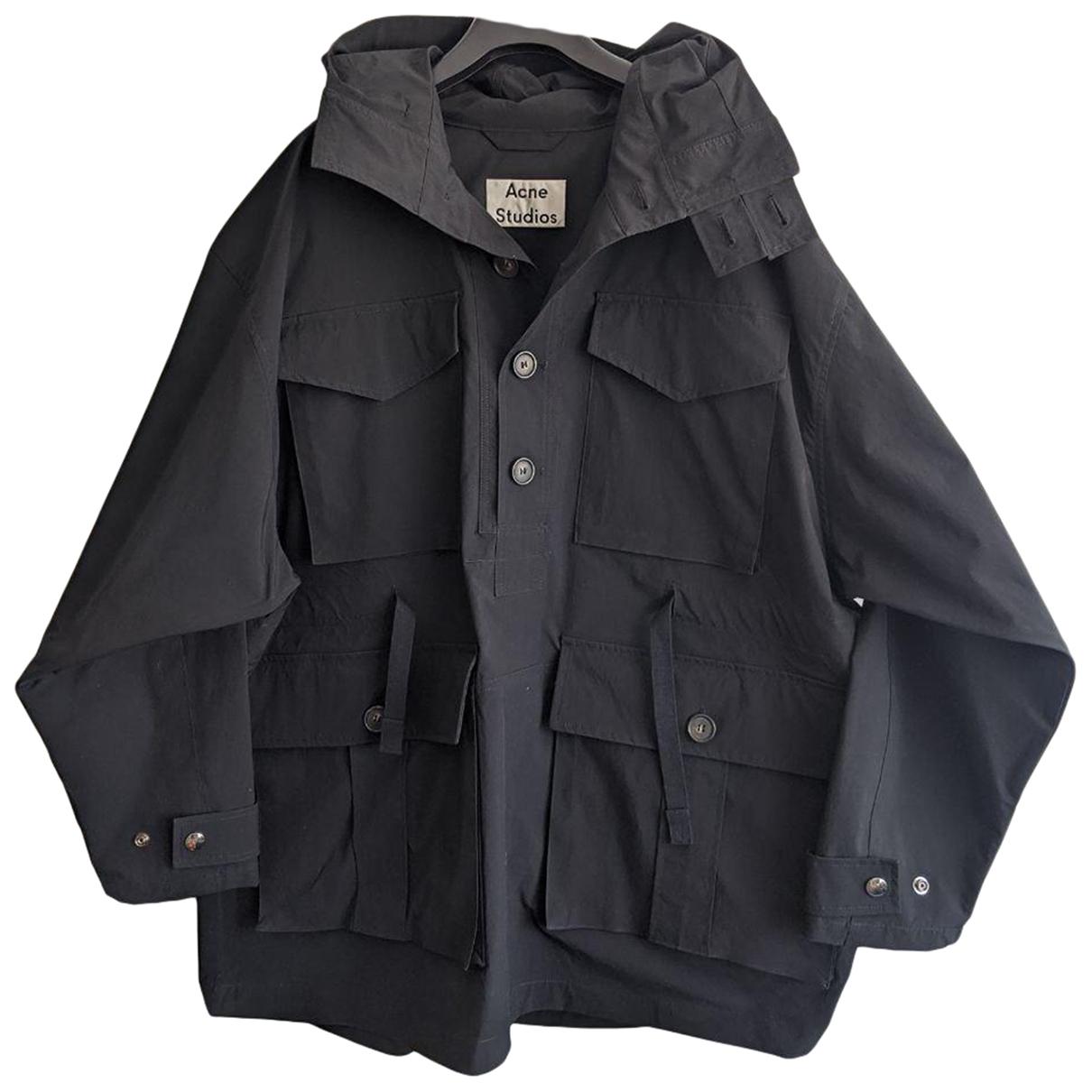 Acne Studios \N Black coat  for Men 46 FR