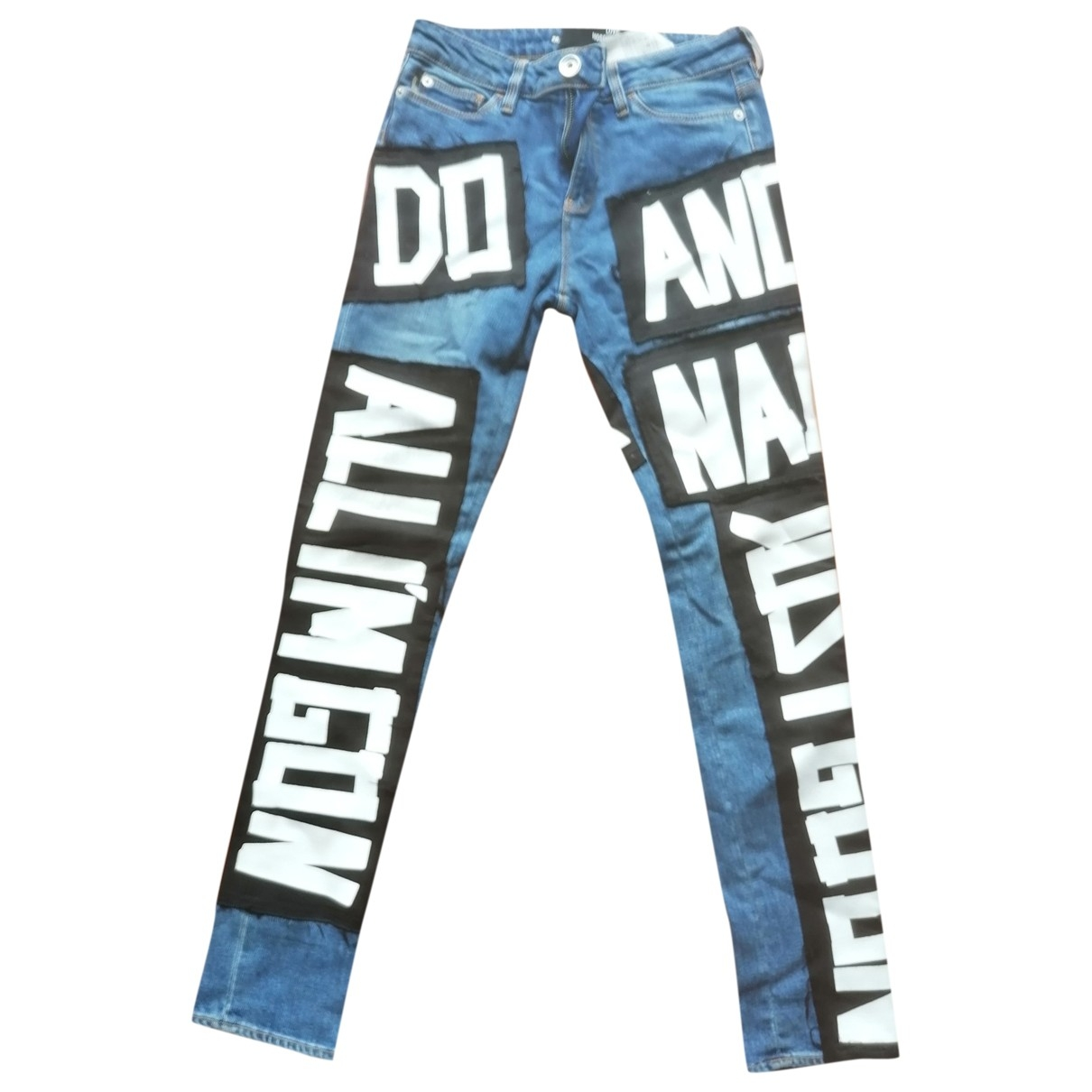Moschino Love \N Blue Denim - Jeans Jeans for Women 26 US