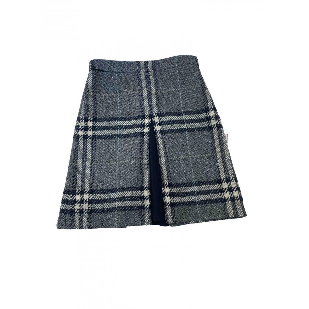 Burberry \N Multicolour Wool skirt for Women 12 UK