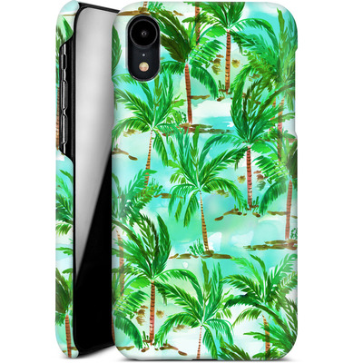 Apple iPhone XR Smartphone Huelle - Palm Tree Green  von Amy Sia