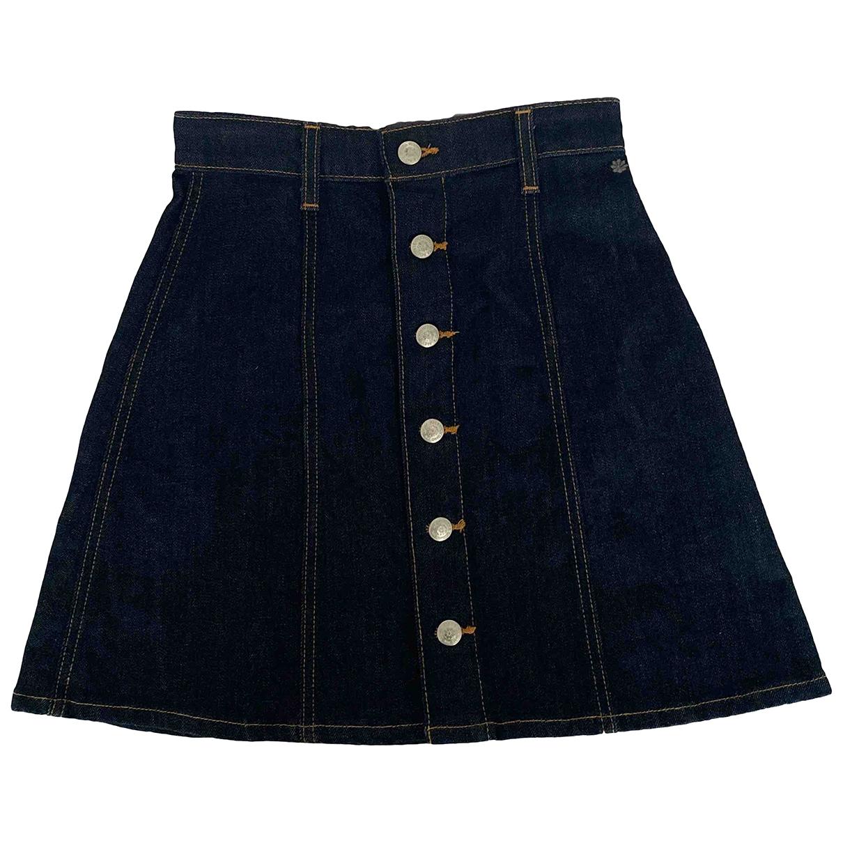Alexa Chung For Ag \N Rocke in  Blau Denim - Jeans