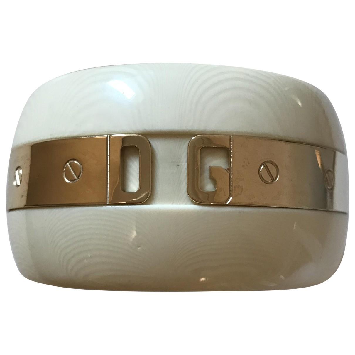 Dolce & Gabbana - Bracelet   pour femme - ecru