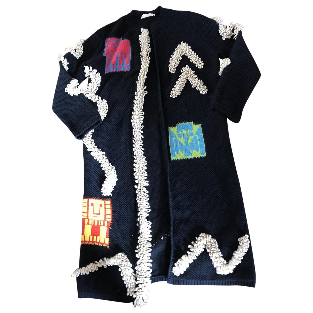 Peter Pilotto \N Blue Wool coat for Women 38 FR
