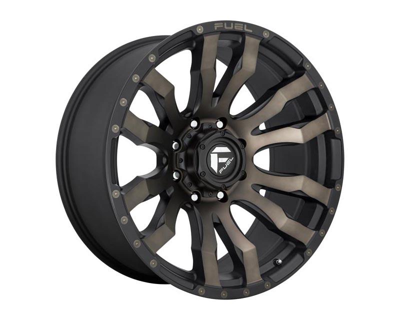 Fuel D674 Blitz Wheel 20x9 8X170 1mm Matte Black Double Dark Tint