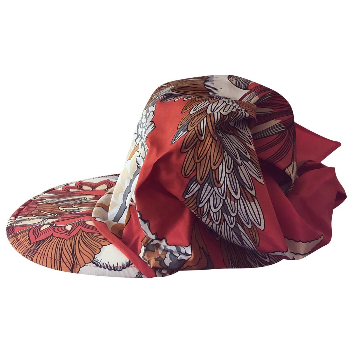 Hermès \N Orange Cotton hat for Women M International
