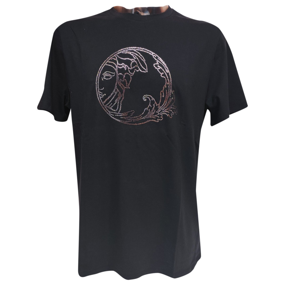 Versace \N Blue Cotton T-shirts for Men XL International