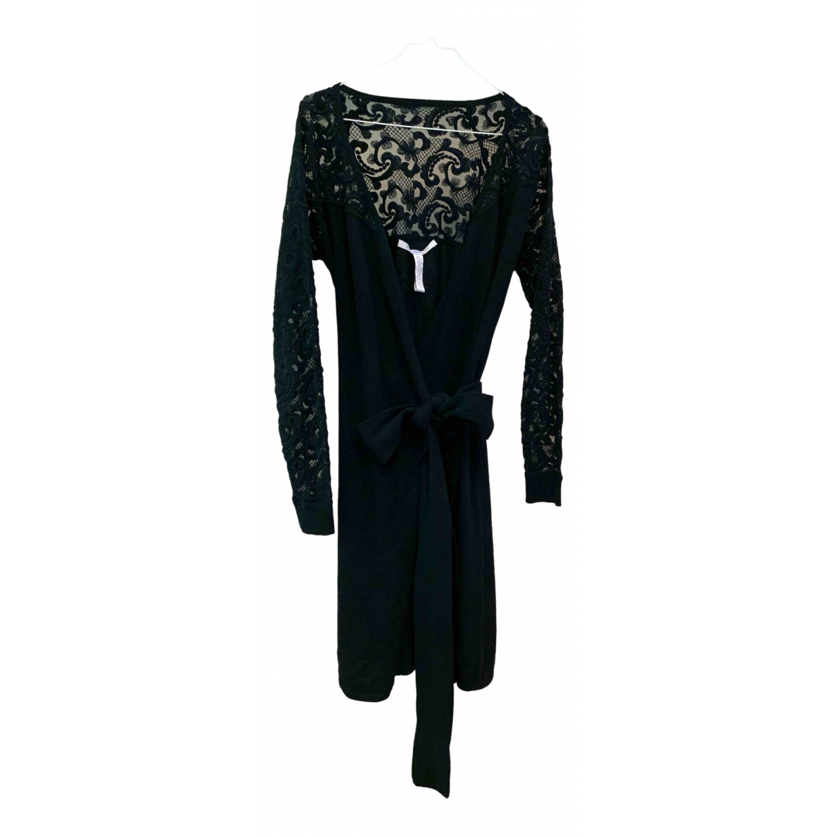 Diane Von Furstenberg \N Black Wool dress for Women S International