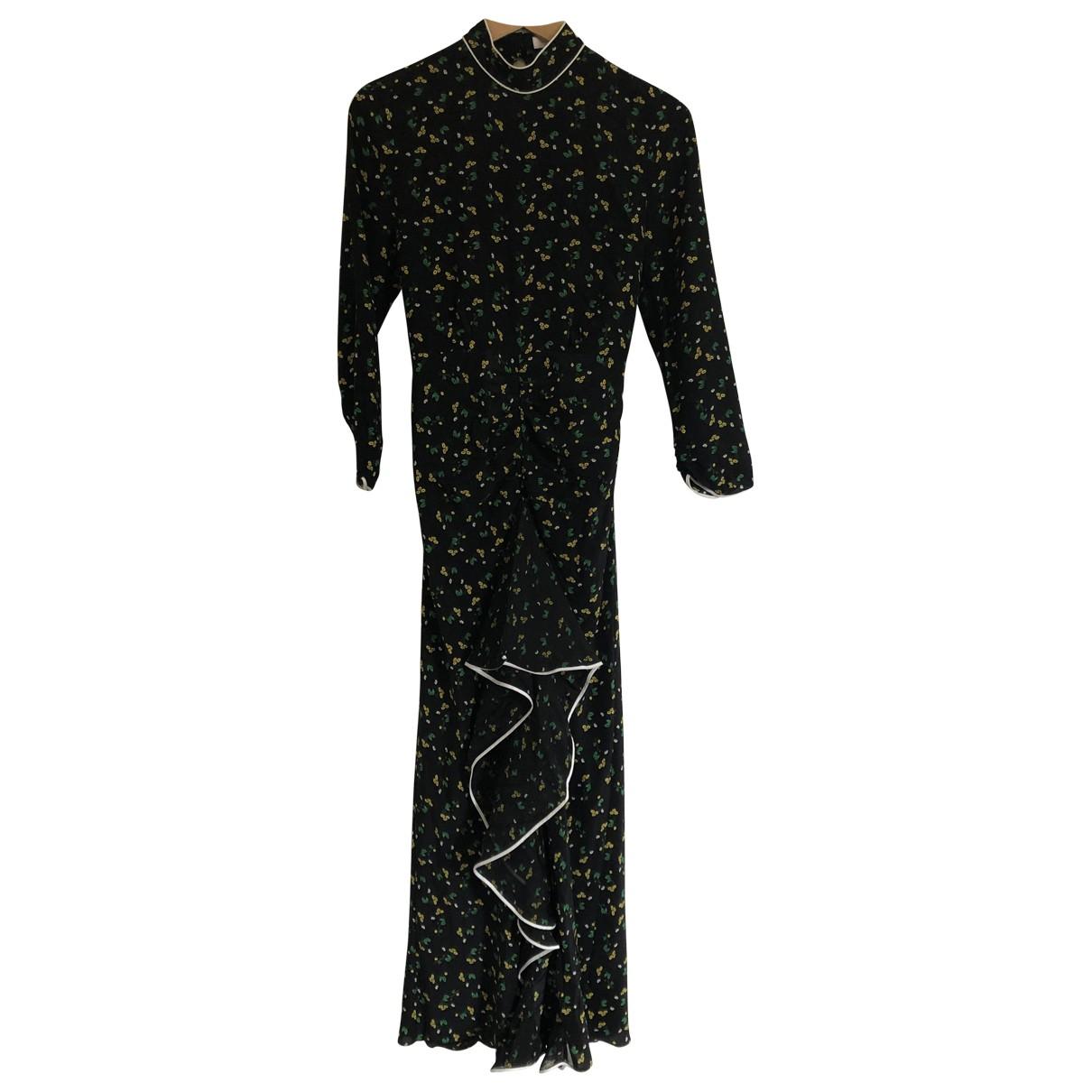 Rixo \N Black Silk dress for Women 8 UK