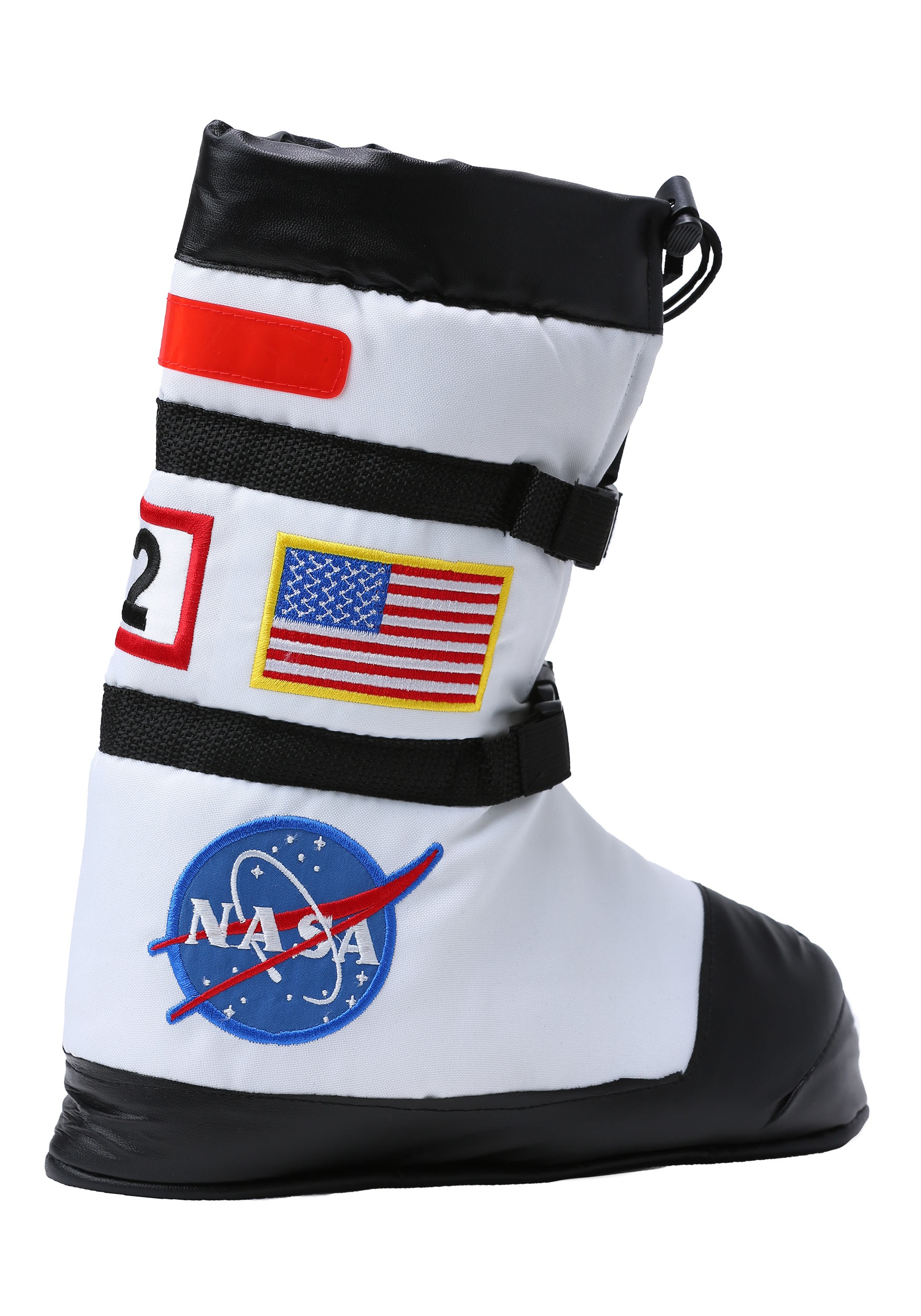White Astronaut Boot Tops