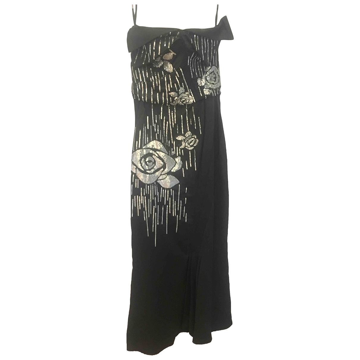Maxi vestido de Seda John Galliano