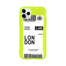 1 Stueck Neon Lime iPhone Etui