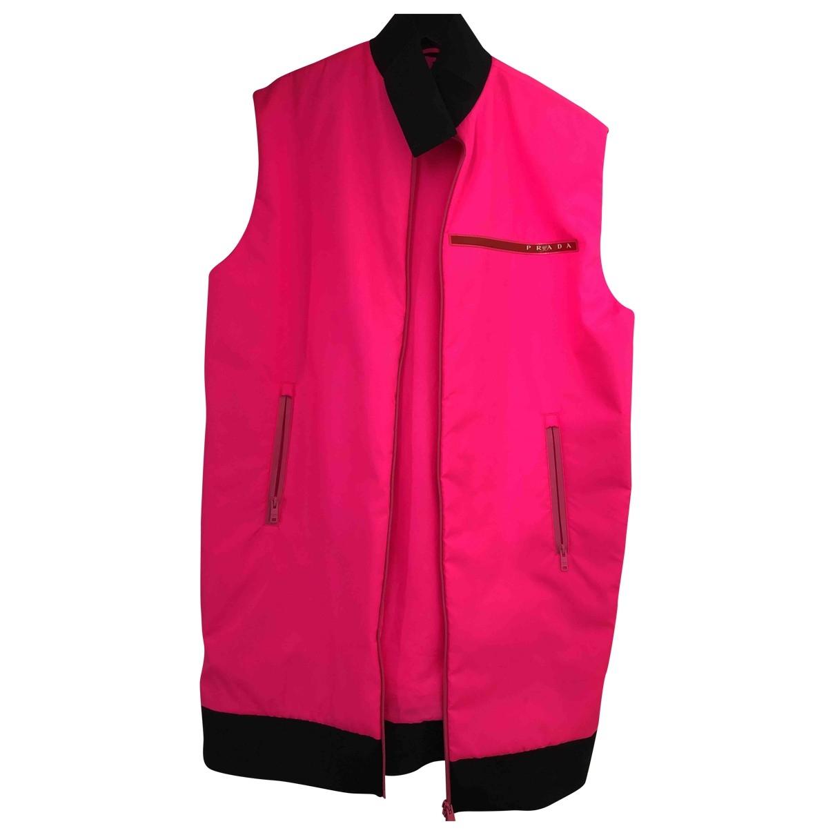 Prada \N Pink jacket for Women 40 FR