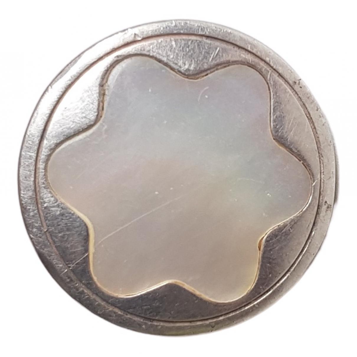 Montblanc - Bague   pour femme en argent - blanc