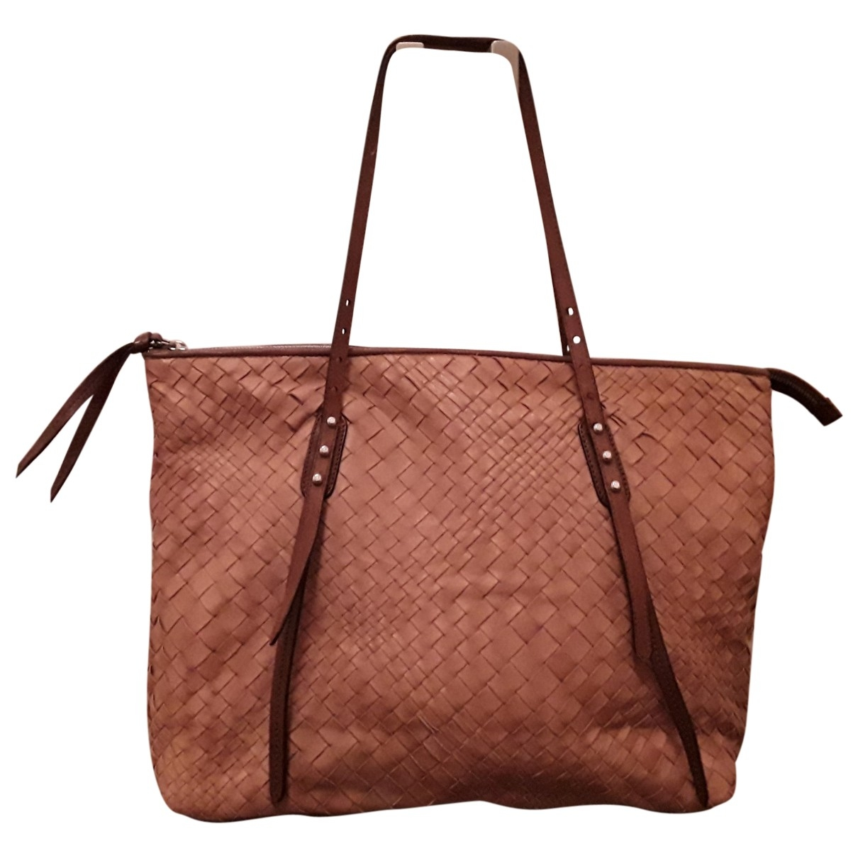 Falorni Italy - Sac a main   pour femme en cuir - marron