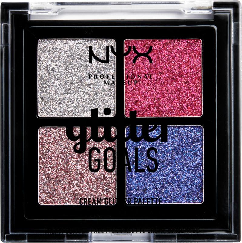 Glitter Goals Cream Quad Palette - Love On Top