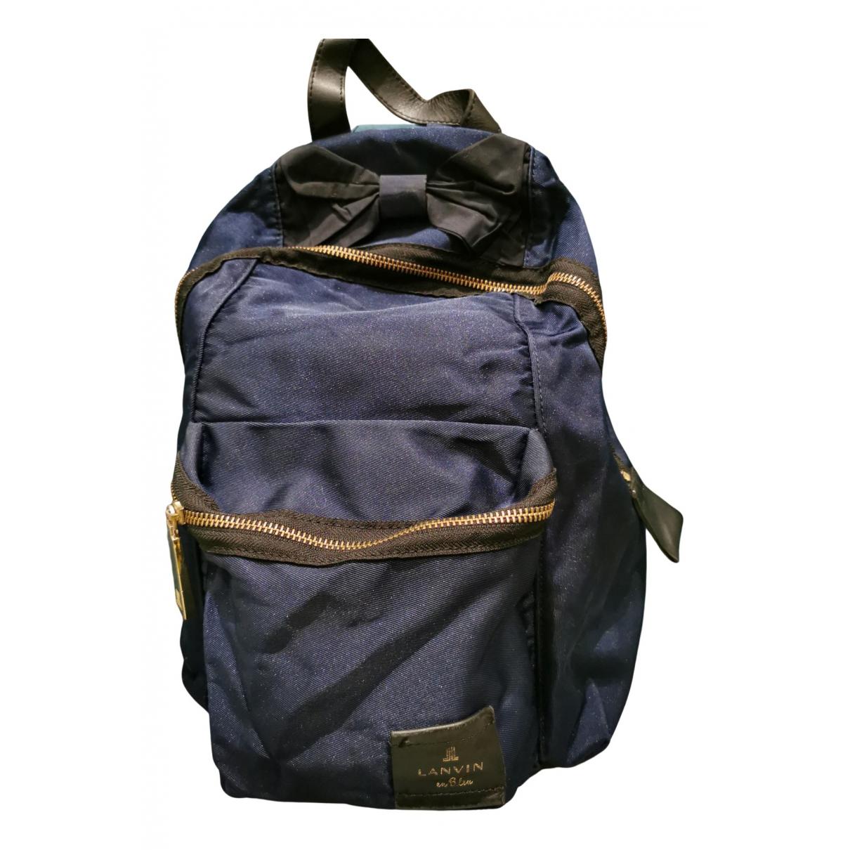 Lanvin N Navy backpack for Women N