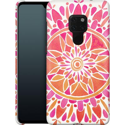 Huawei Mate 20 Smartphone Huelle - Mandala Pink Ombre von Cat Coquillette