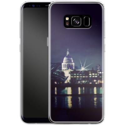 Samsung Galaxy S8 Silikon Handyhuelle - Thames von Ronya Galka
