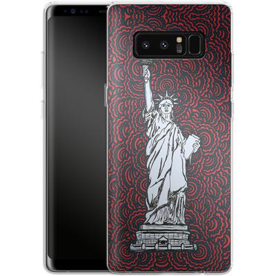 Samsung Galaxy Note 8 Silikon Handyhuelle - Liberty von Kaitlyn Parker