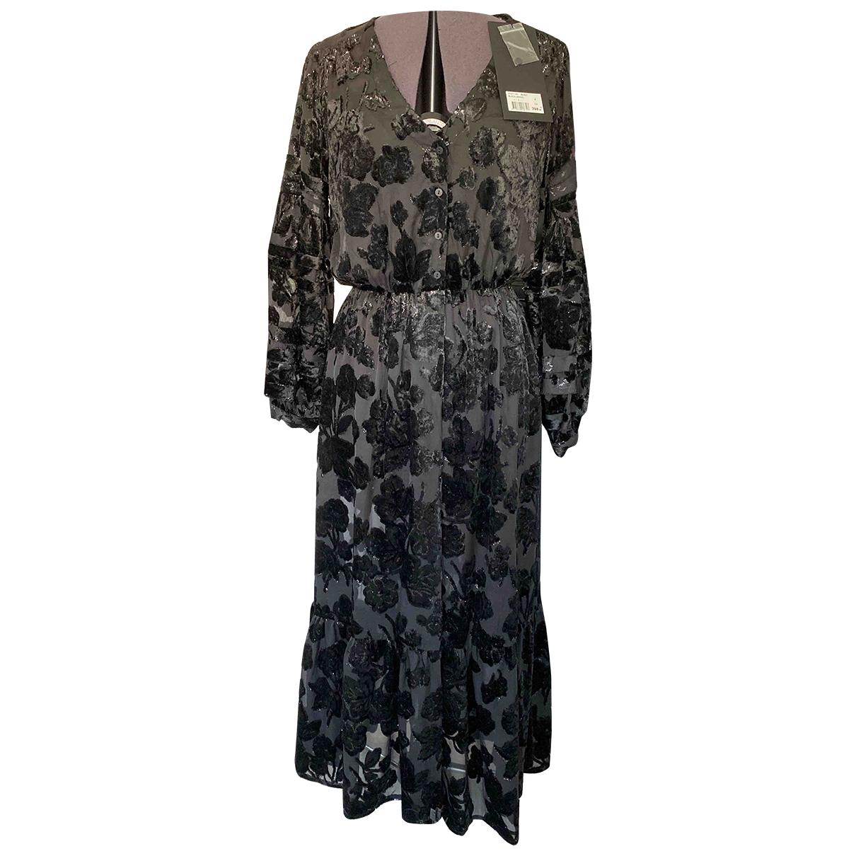 The Kooples \N Kleid in  Schwarz Samt