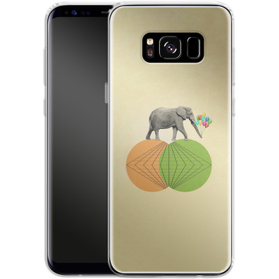 Samsung Galaxy S8 Silikon Handyhuelle - Balloney Fant von Mark Ashkenazi