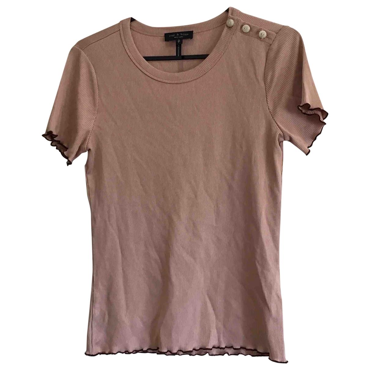 Rag & Bone \N Pink  top for Women S International